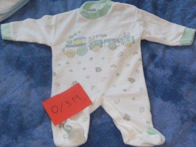 Pyjama 0.3 mois
