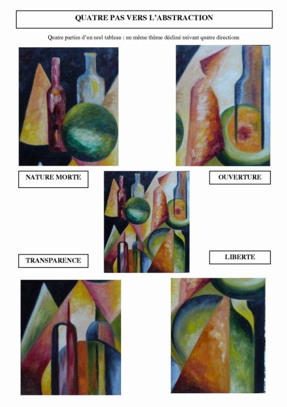 Quatre pas vers l'abstraction (atelier pédagogique)