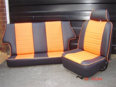 Sellerie complète pour Mini Austin 1965-2000 . Ton au choix