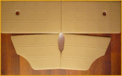 """NEW- Set complet de panneaux de portes MINI  Modèle """"Square"""""""