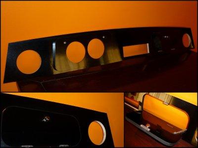 le tableau de bord mini noir laque. Black Bedroom Furniture Sets. Home Design Ideas