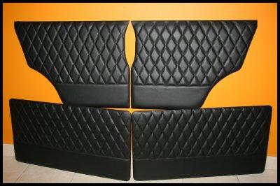 """NEW-Le set de panneaux de portes pour MINI de 1970 à 2000- Modèle """"Diamond"""""""