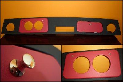 """Réalisation : Tableau de bord Modèle """"Classic Leather"""" pour une Mini Twimmings de 1992"""