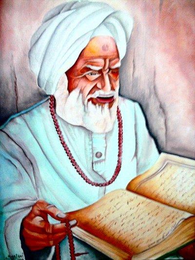 Homme muslim lire le livre de dieu quran