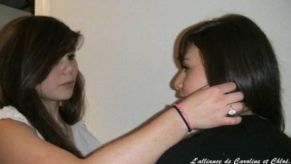 L'alliance de Caroline et Chloé ♥