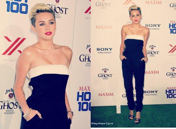 17 mai:  Miley a été photographié se rendant au studio d'enregistrement + The Maxim Hot Party & Miley coup de gueule sur Twitter !