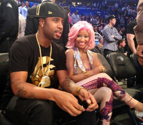Nicki Minaj Aux NBA All-Star