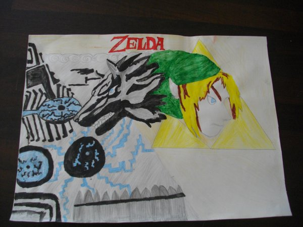 Je suis une FAN de Zelda !!
