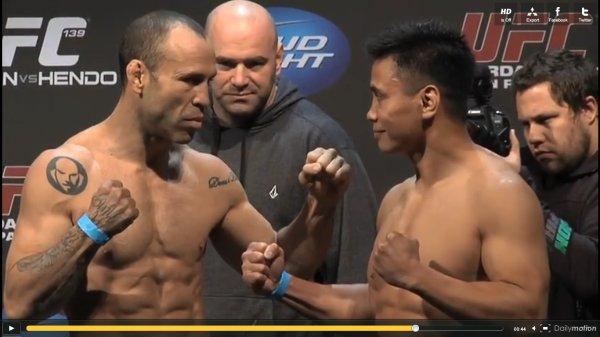 UFC 139 WANDERLEI SILVA VS KUNG LEE