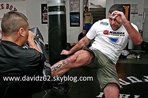 STAGE MAURICIO SHOGUN UNE SEMAINE APRES SON COMBAT FACE A DEN HENDERSON UFC 139