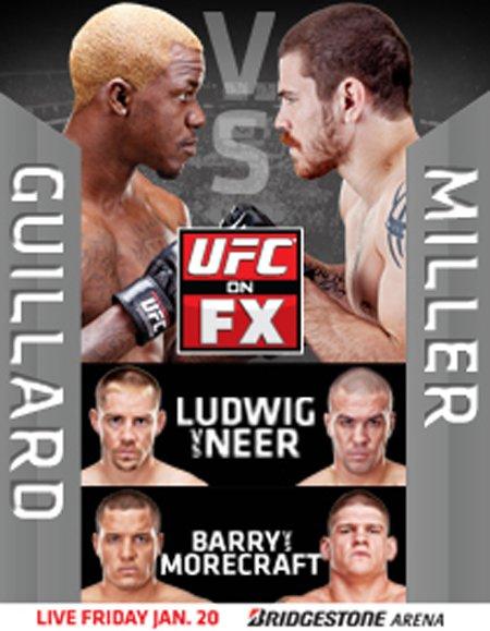 CE SOIR 22 JANVIER 2012 SUR RTL9 UFC ON FX