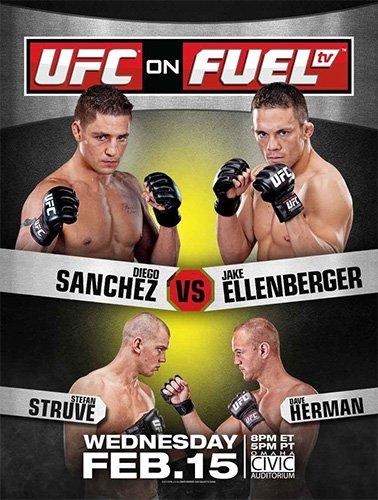 UFC ON FUEL AVANT UFC 144