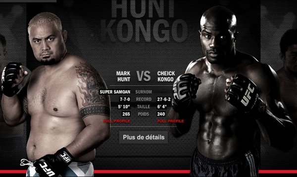 UFC JAPAN CHEIK KONGO VS MARK HUNT