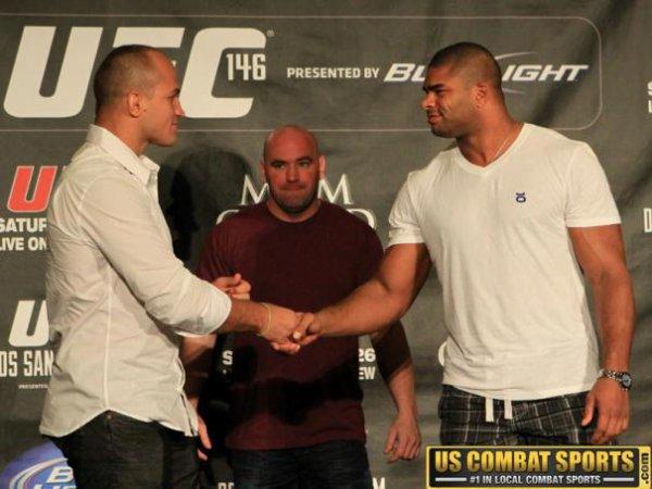 UFC 146 CONFERENCE DE PRESSE