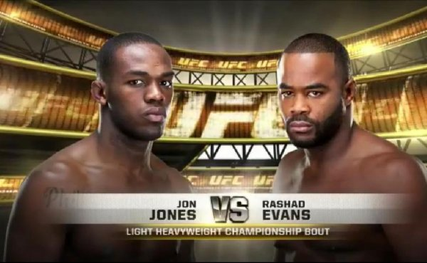 UFC 145 RASHA EVANS VS JON JONES CE 21 AVRIL 2012
