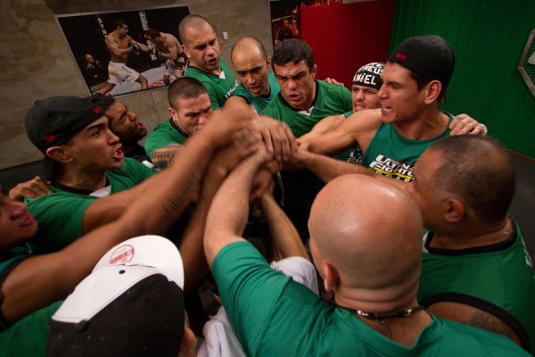TUF BRAISIL TEAM VITOR BELFORT VS TEAM WANDERLEI SILVA EPISODE 7