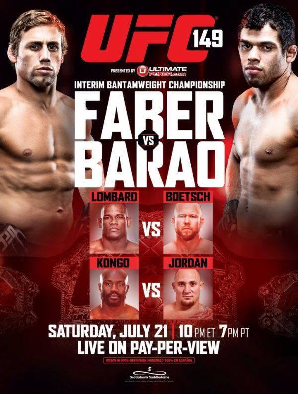 REPLAY UFC 149