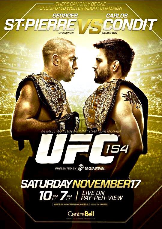 UFC REPLAY 154