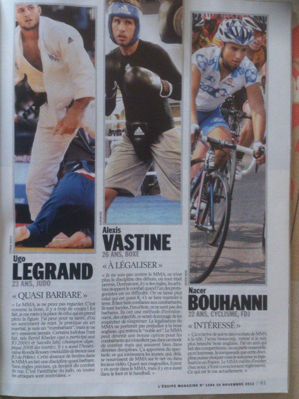 L EQUIPE MAGAZINE NOVEMBRE 2012