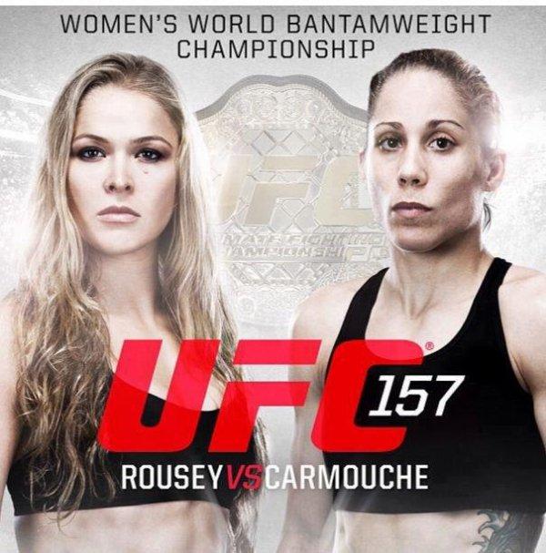 PREMIER HISTORIQUE A L UFC LA CATEGORIE DES FEMMES
