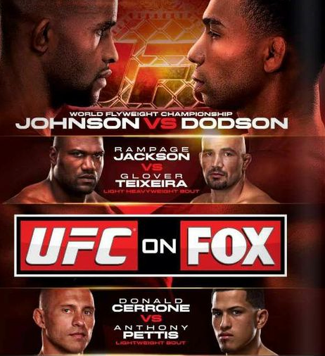 UFC ON FOX DERNIER COMBAT DE RAMPAGE