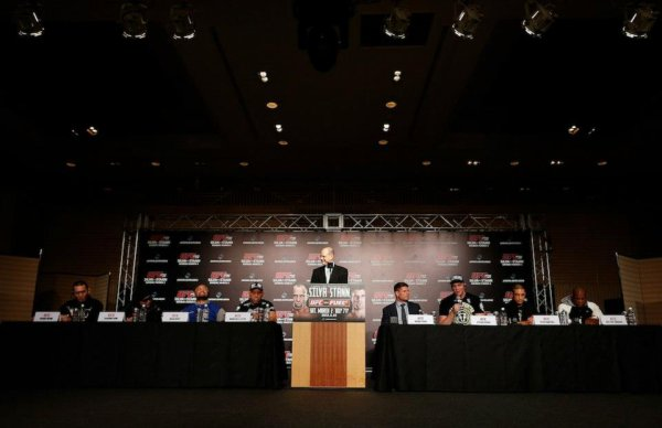 CONFERENCE DE PRESSE UFC JAPON CE SAMEDI SOIR WANDERLEI SILVA VS BRIAN STANN
