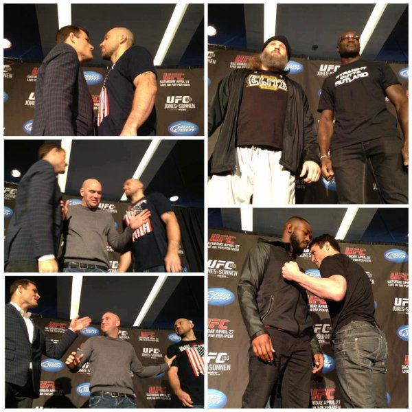 CONFERENCE DE PRESSE UFC 159