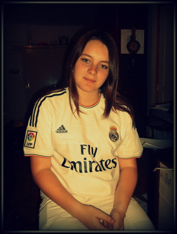 Hala Madrid ! <3 :)