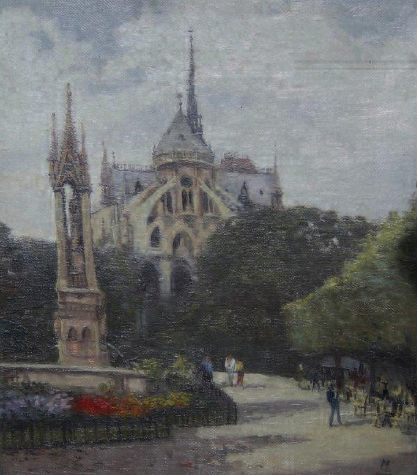 """""""Paris, Notre Dame et le jardin Jean XXIII"""""""