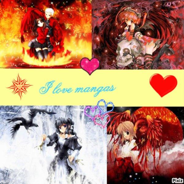 j'adore les mangas (l) :)