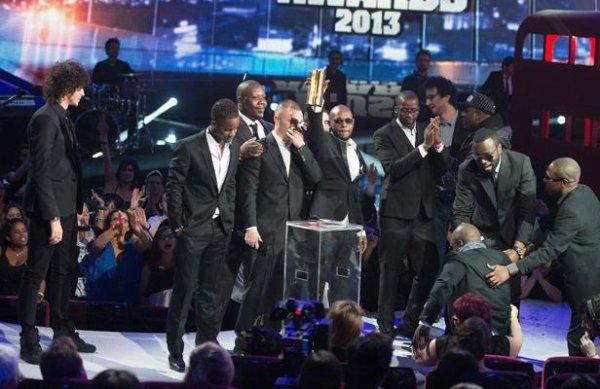 NRJ musiques Awards 2013 les vainceurs