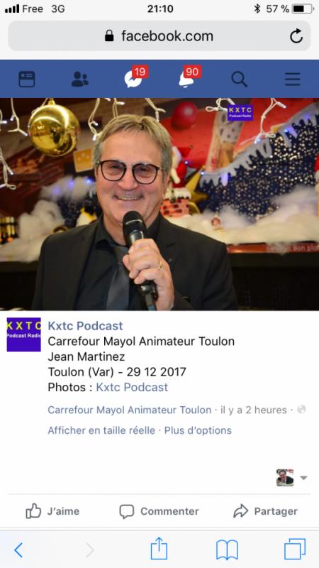Animation. Carrefour. Mayol.