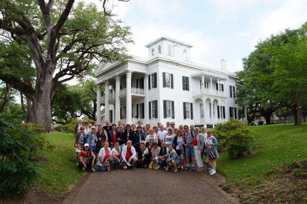Lundi 17 avril - Natchez/Lafayette