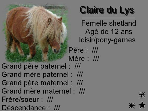 Claire du Lys