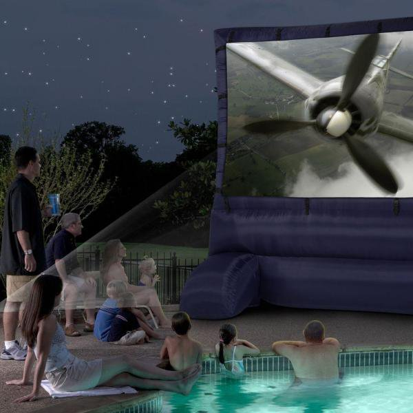 Airblown Deluxe 12ft Inflatable Outdoor Movie Screen