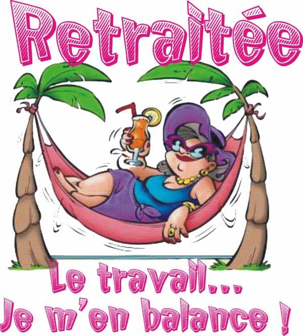 CA Y EST , JE SUIS A LA RETRAITE  !!! BON , OK  je reprend le boulot demain jusqu'au 31 juillet ,mais ensuite c'est terminé