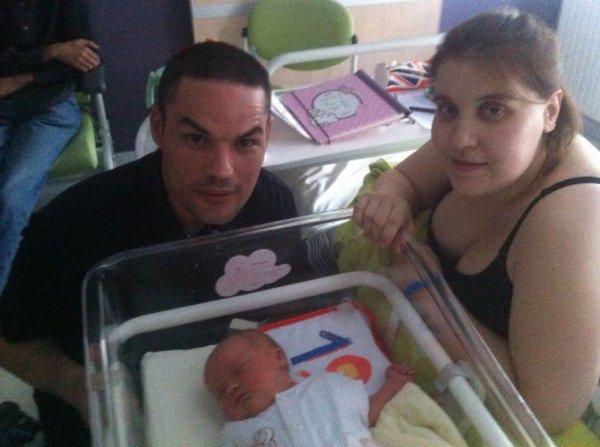 naissance de notre fille Louise