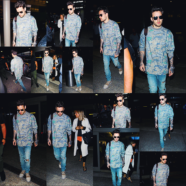 -   13/06/2017   ▬ Liam Payne a été photographié alors qu'il arrivait à l'aéroport de Los Angeles nommé LAX. Plus - Voici donc de jolies photographies de notre talentueux Liam, j'aime sa tenue bien qu'elle soit simple, top pour moi. Tu aimes?    -