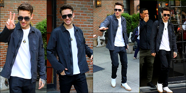 -   21/06/2017   ▬ Notre beau Liam Payne a été vu quittant son hôtel de  Manhattan à dans New York. Plus -C'est un Liam souriant et très beau qui nous offre une sortie plutôt banale mais assez jolie, j'aime beaucoup ! Tu aimes?    -