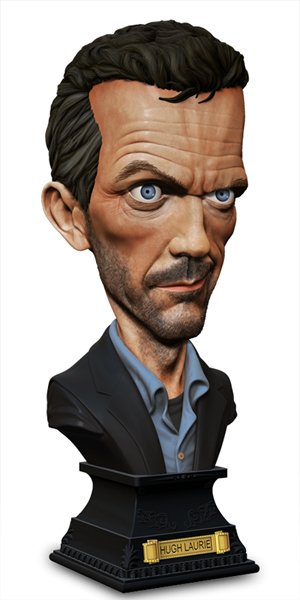 Hugh Laurie en figurine