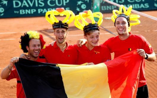 Coupe Davis match 3 : Rochus et Bemelmans finissent le travail !