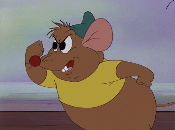 personnage dans « Cendrillon »: Gus.