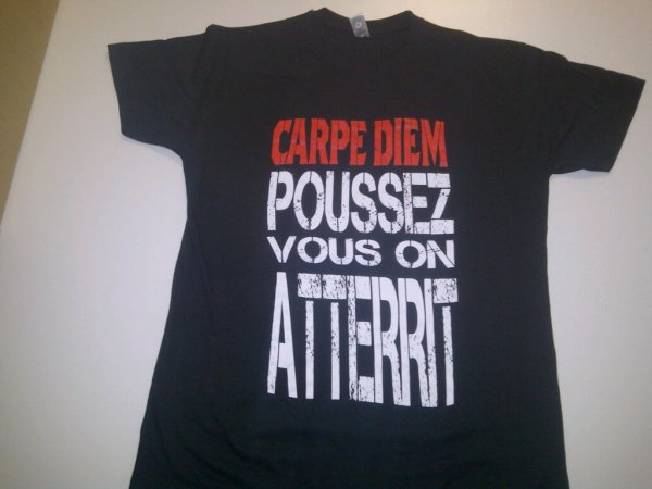 "NOUVEAU T-SHIRT ""CARPE DIEM"" .ıllılı. Facebook Groupe Officiel .ıllılı. Fan Facebook Officiel .ıllılı."