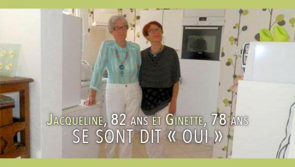 Sincères Félicitations : Ginette Barant, 78 ans et Jacqueline Cordier, 82 ans