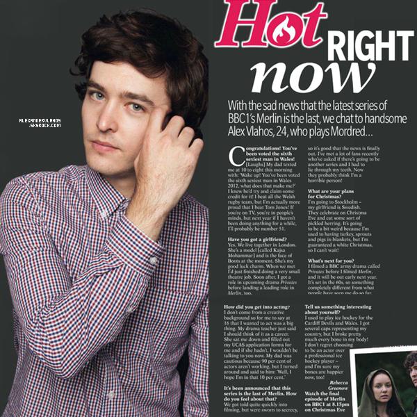 Alexander pour le Reveal Magazine