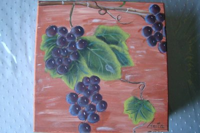 les raisins de ROS STALLCUP