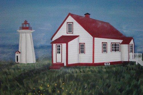 le phare du havre saint-pierre