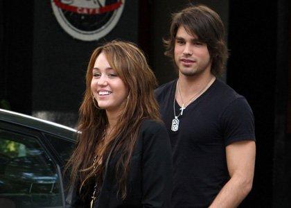 Miley et son petit copain