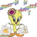 aime-tu le shopping?