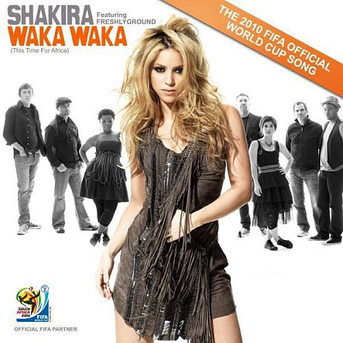 parole:de Waka Waka Shakira lyrics